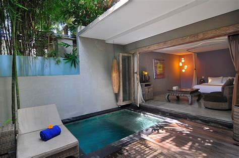 Bali Hotel Room With Pool by Event In Bali Blue Karma Resort