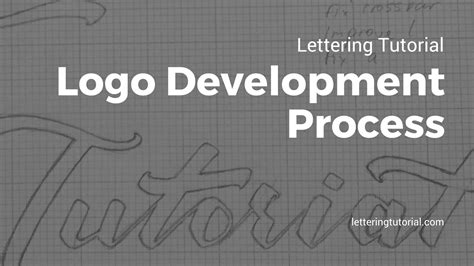 tutorial logo facebook lettering tutorial logo development process