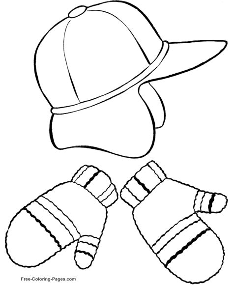 printable mitten coloring page coloring home