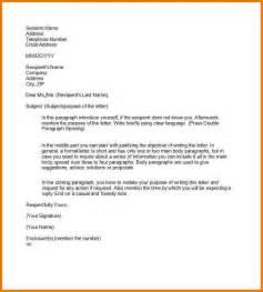 Example Business Letter Semi Block Format sample of formal letter format appeal letters sample