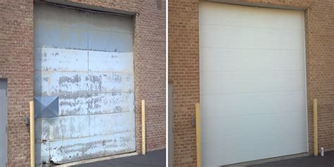commercial garage door installation commercial garage door installation preferred window and