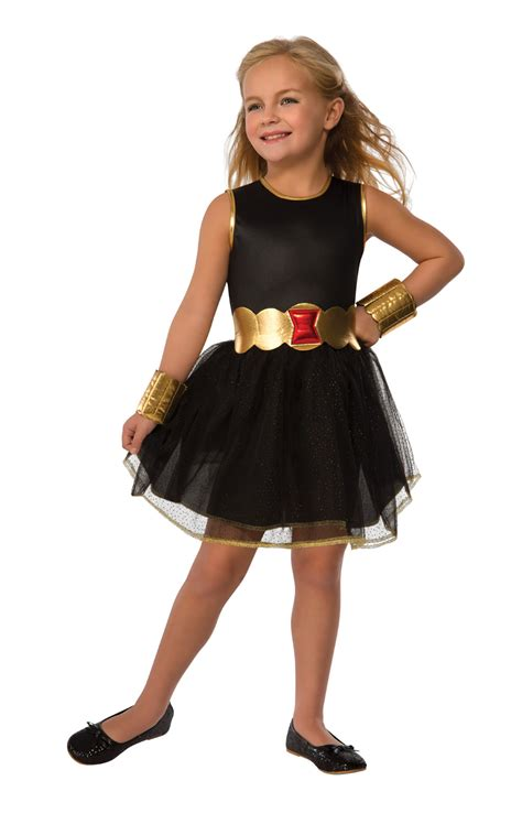 Hh 920592couple Costume Black black widow fancy dress book childrens costume new ebay