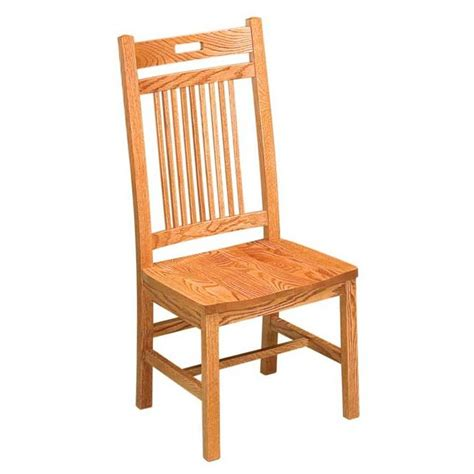 mission dining room chairs bay hill clear creek amish