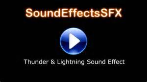 Lightning Sound Effect Thunder Lightning Sound Effect