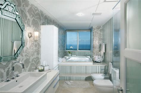 Dkor Interiors by Beautiful Mosaic Walls Featuring Bits And Pieces Of Glass