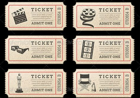 37 movie ticket templates free word eps psd formats