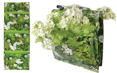 Vertical Garden Pouches Flowers Willard And May Outdoor Living