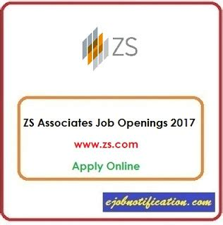 Zs Associates Mba Position by Zs Associates Openings Test Analyst In Pune Apply