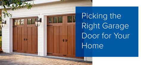 best reliable garage door openers picking the right garage door american overhead door