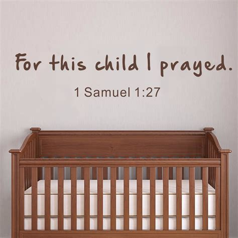 Scripture Wall Decals For Nursery Scripture Quotes About Boys Quotesgram