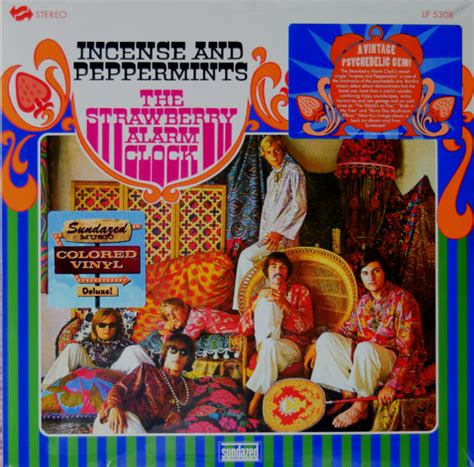 strawberry alarm clock incense  peppermints  blue vinyl discogs