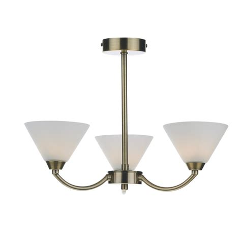 hen0375 brass ceiling light henley 3 light ceiling light