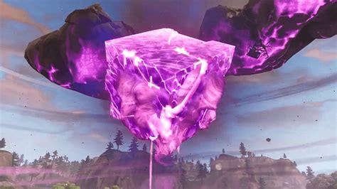 fortnite l evento di fortnitemares fortnite esplosione cubo viola l incubo epic