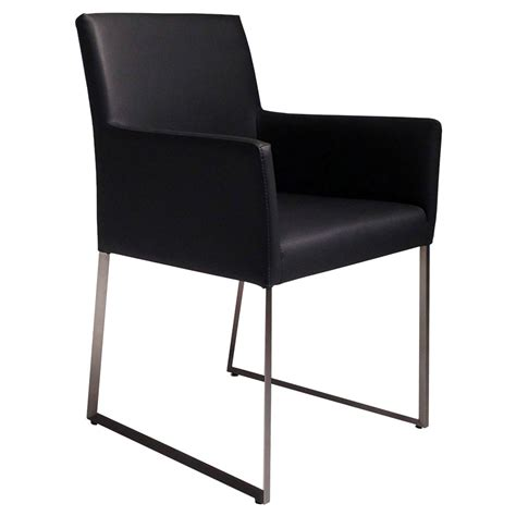 Tobias Chair Review by Modern Dining Chairs Tobias Black Arm Chair Eurway