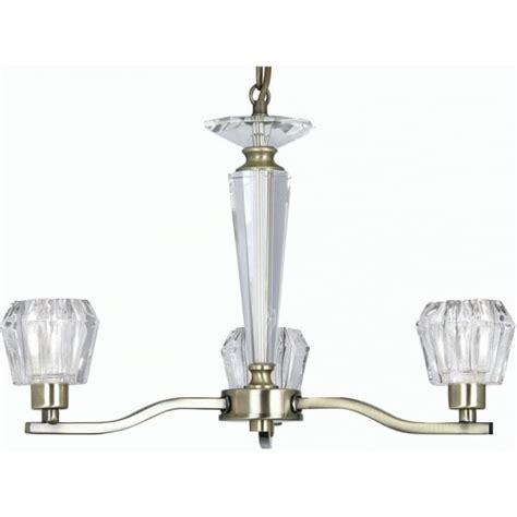Multi Arm Ceiling Light Oaks Lighting Vita 3 Light Ceiling Multi Arm Fitting In Antique Brass Lighting Type From