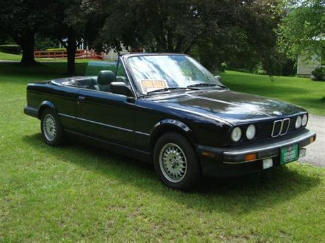 1988 bmw 325i convertible buy used 1988 bmw 325i convertible 2 door sport package 5
