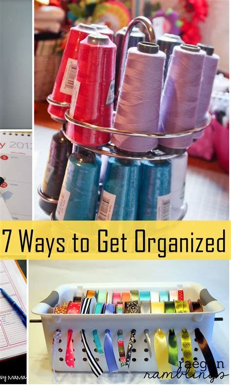 7 Ways To Organize by 7 Ways To Get Organized Gun Ramblings