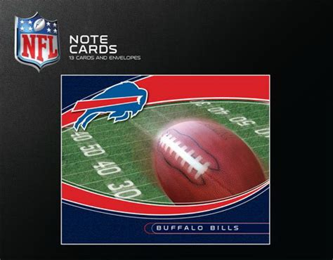 buffalo bills desk accessories turner turner buffalo bills boxed note cards 8590134