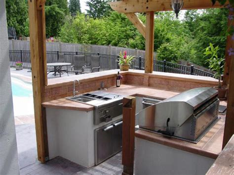 kitchen outdoor ideas outdoor kitchen ideas for small spaces