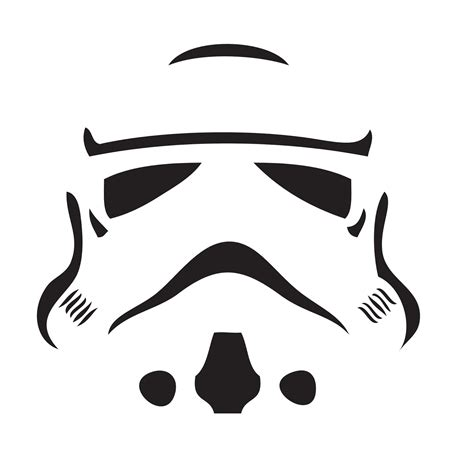 Star Wars Pumpkin Stencils Carving Pattern Outline Free Printable Funny Halloween Day 2018 Stencil Template