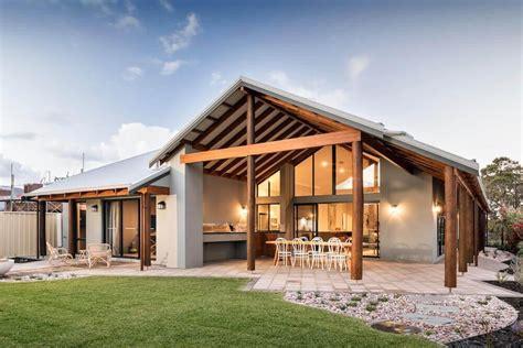 modern rural home  kalgup retreat rural building