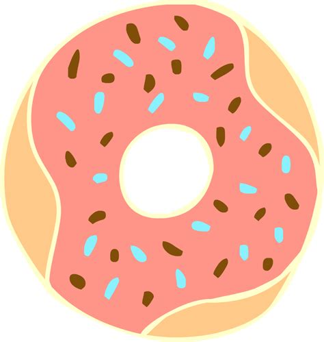 transparent background drawn doughnut transparent background pencil and in