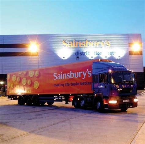 Led Warehouse Lighting Hss 900 Jobs Created With New Sainsbury S Dc In Daventry