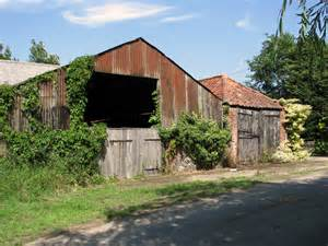 farm sheds  mill lane ilketshall  evelyn simak cc  sa geograph britain