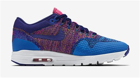 pink pattern air max multicolor nike air max 1 ultra flyknit blue pink