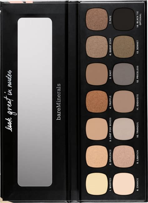 Bare Escentuals Introduces Mineral Nail Nail Tech Secrets by Bare Minerals Introduces 14 Shade Ready Eyeshadow Palette
