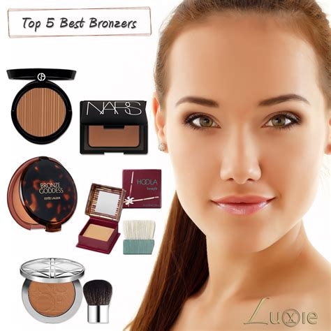 Set Olive 3w best bronzers to a bronze goddess glow luxie