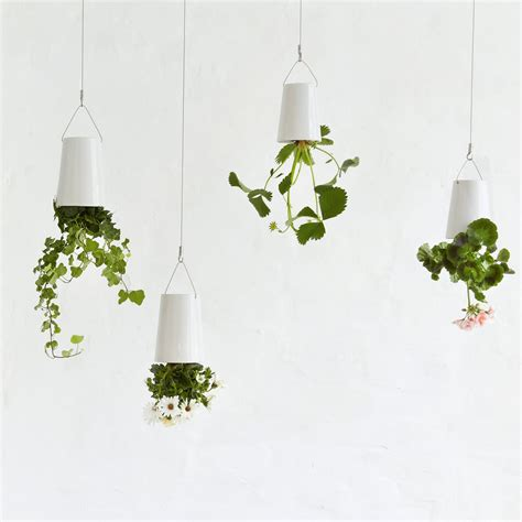 White Hanging Planter mildred amp co a new zealand wedding gift registry sky planter