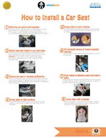 infanttech s advise on how to install a car seat infanttech