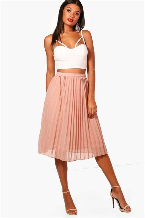 Pleated Chiffon Skirt chiffon pleated skirt shop for cheap s dresses