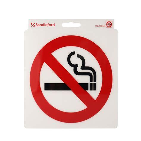no smoking sign bunnings bunnings sandleford sandleford 152mm no smoking symbol