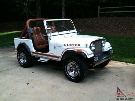jeep cj laredo jeep cj7 laredo 1984