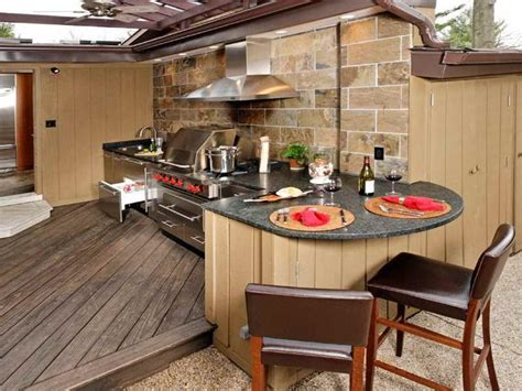 outdoor kitchen modular prefab outdoor kitchen kits in various designs mykitcheninterior