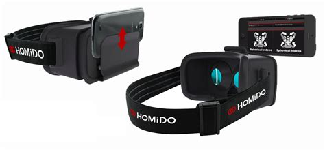 vr apps android homido launches vr smartphone adapter and sleek app for vr with web browser on ios and