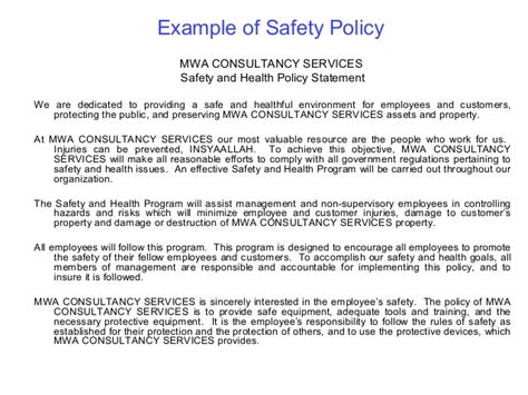 safety and health management systems oshms 2003