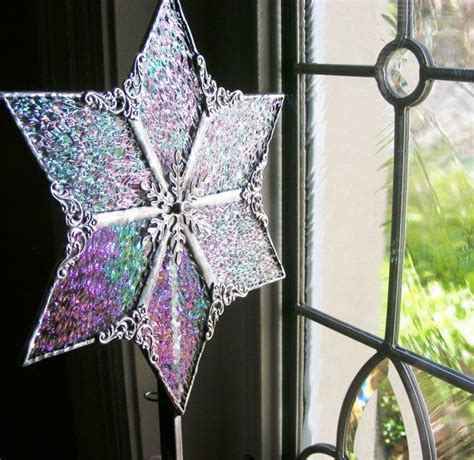 stained glass tree topper 17 best images about stained glass tree toppers on