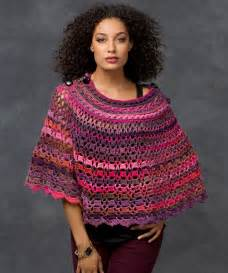 Red heart poncho crochet patterns car tuning
