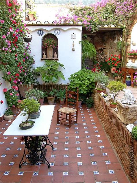 jardn de invierno spanish b073633qll mexican tile floor and decor ideas for your spanish style home diy ideas