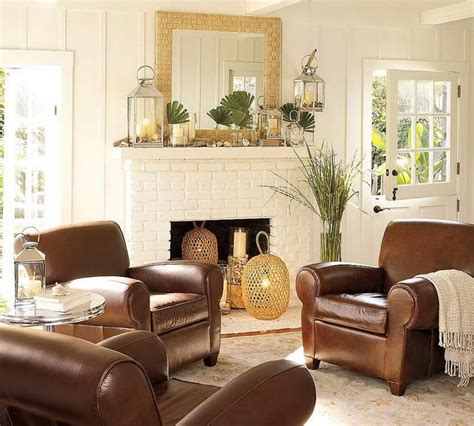 Brown Leather Decor by Best 25 Brown Leather Furniture Ideas On