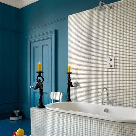 blue tiled bathroom pictures 5 techniques to use blue color in bathroom tile design in