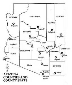 counties of arizona map arizona map alliance