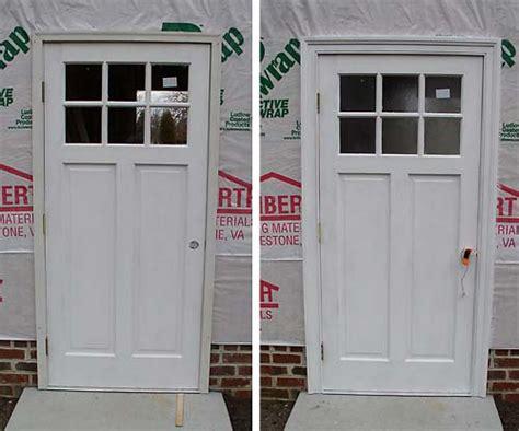 Brickmold Door by Door Brickmold Masonite 36 In X 80 In Chatham Camber 1