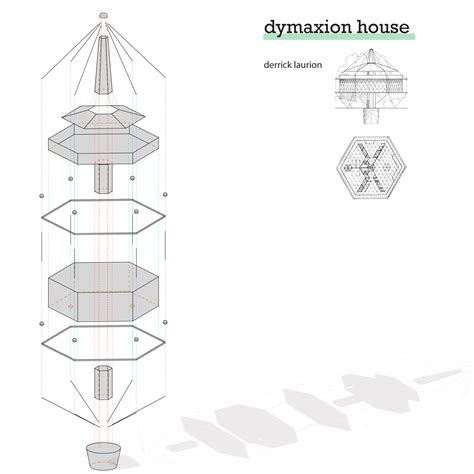 dymaxion house floor plan d laurion assignment 1 intar ad ct