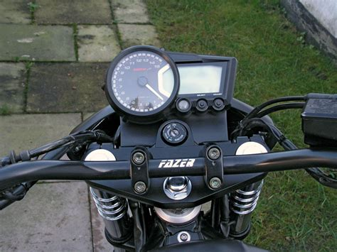 Motorrad Kompressor Umbau by Yamaha Fazer 600 Umbau Kradblatt