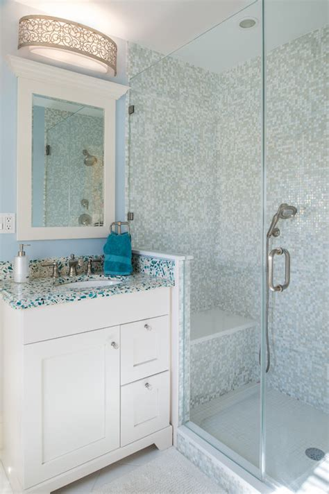 Recycled Glass Countertops Nj by 4 Glass Bathroom Countertops With Color And Character