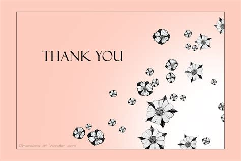 Thank You Gift Card - free printable thank you cards n 186 2